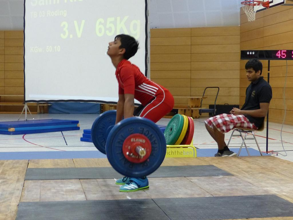 TB 03 Roding Gewichtheben