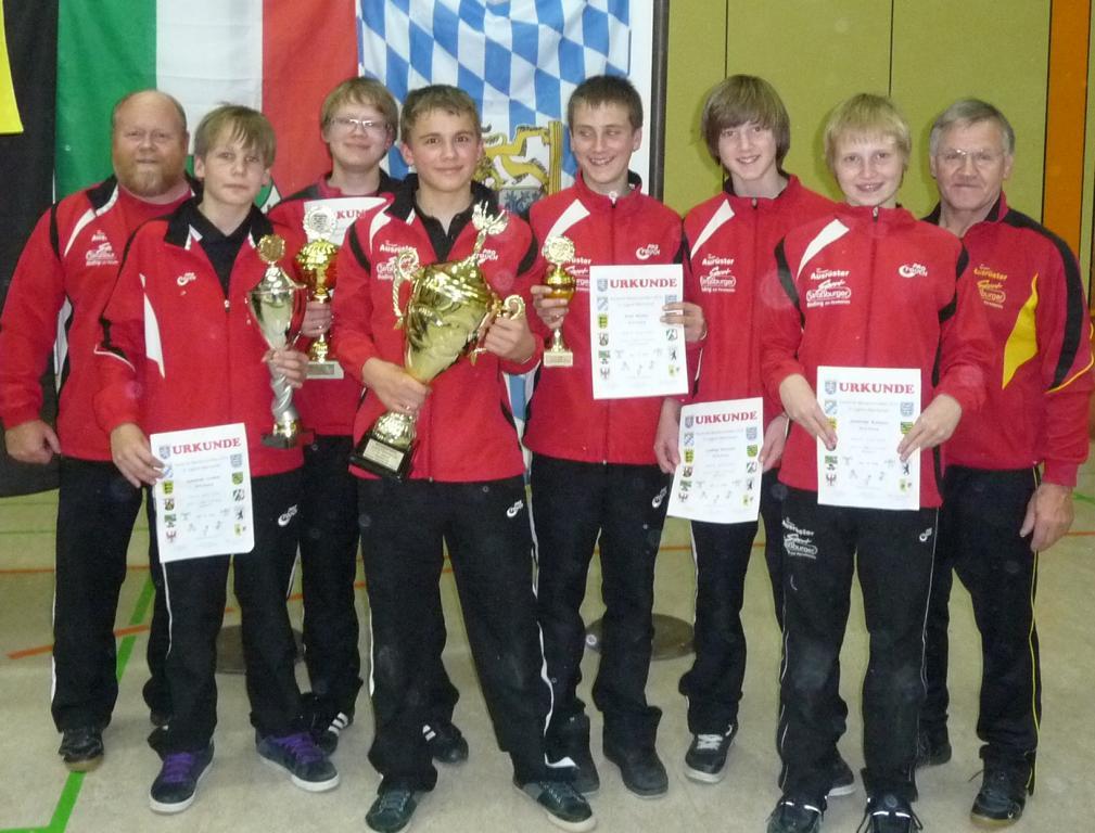 Teilnehmer mit Trainern